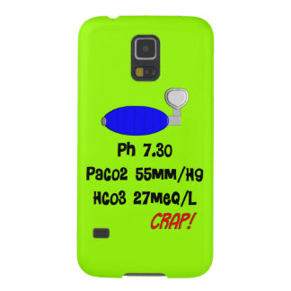 Funny Respiratory Therapist gifts Cases For Galaxy S5
