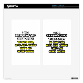 Funny Respiratory Therapist T-Shirts and Gifts Decal For Kindle Fire
