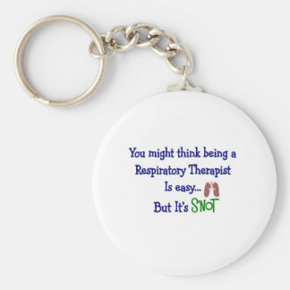 Funny Respiratory Therapy Gifts Keychain