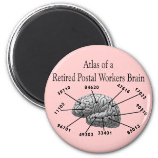 Funny Retired Postal Worker T-Shirts and Gifts Magnet