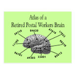 Funny Retired Postal Worker T-Shirts and Gifts Post Cards