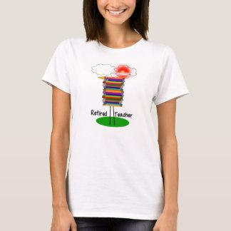 Funny Retired Teacher Book Bird T-Shirt 1