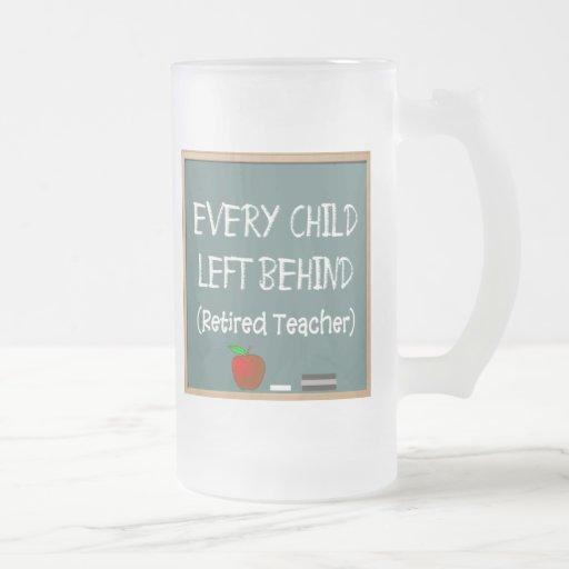 Funny Retired Teacher Frosted Mug