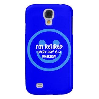 funny retiree galaxy s4 cover