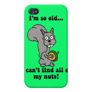 funny retiree iPhone 4 cases