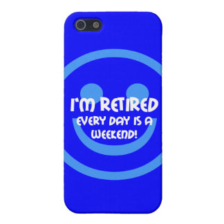 funny retiree iPhone SE/5/5s cover