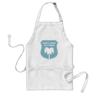 Funny retirement apron for retired men and women