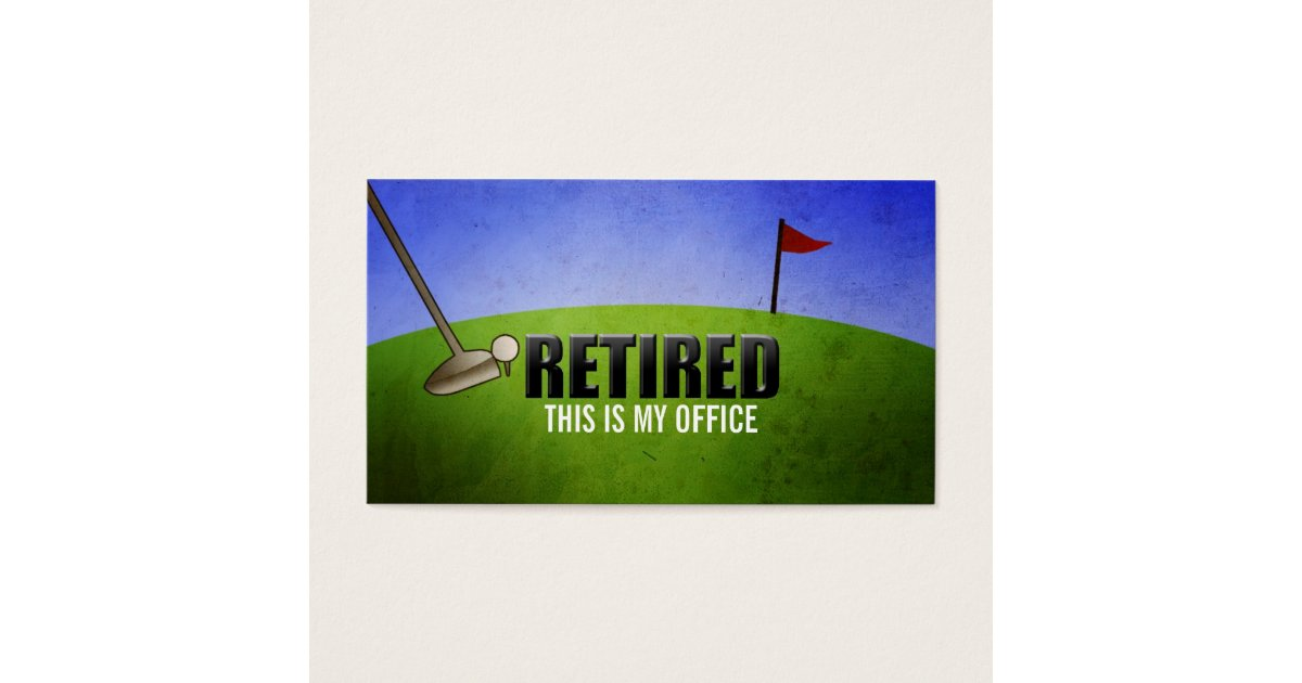 Retired Business Cards & Templates | Zazzle
