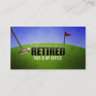 Funny business cards zazzle funny retirement business cards reheart Choice Image