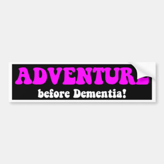 Funny retirement car bumper sticker