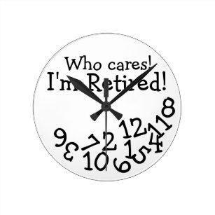 Retired Tool and Die Maker Design Wall Clock Retired Not Expired Retirement Gift