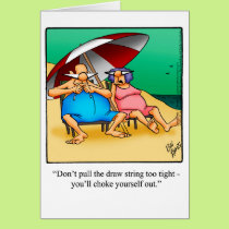 Funny Retirement Congratulations Greeting Card