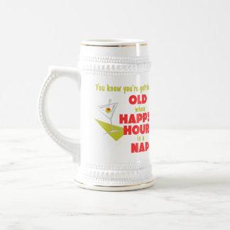 Funny Retirement Gift 18 Oz Beer Stein