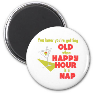 Funny Retirement Gift 2 Inch Round Magnet