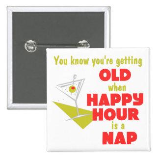 Funny Retirement Gift 2 Inch Square Button