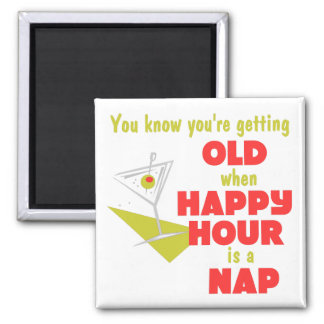Funny Retirement Gift 2 Inch Square Magnet