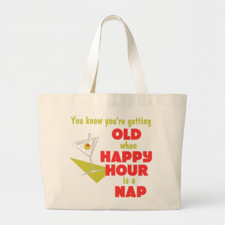 Funny Retirement Gift Canvas Bags