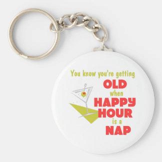 Funny Retirement Gift Basic Round Button Keychain