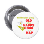 Funny Retirement Gift Button