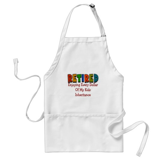 Funny Retirement Gifts Adult Apron