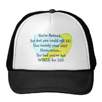Funny Retirement gifts Hat