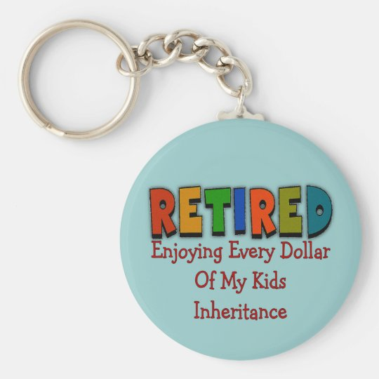 Funny Retirement Gifts Keychain