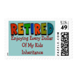 Funny Retirement Gifts Postage