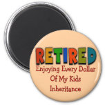 Funny Retirement Gifts Refrigerator Magnets