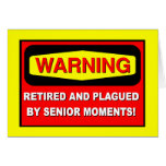 Funny retirement greeting card
