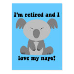 Funny retirement humor post cards