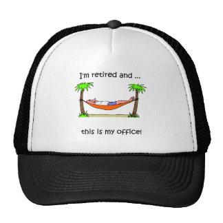 Funny retirement humor trucker hat