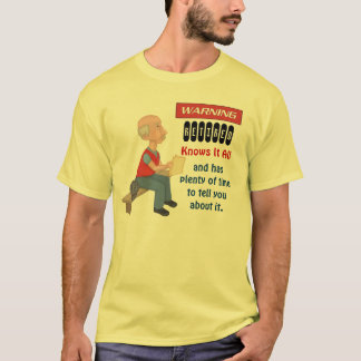 Funny Retirement Knows It All T-Shirt