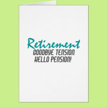 Funny Retirement Quote Card