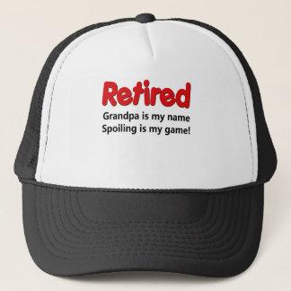 Funny Retirement Saying Trucker Hat