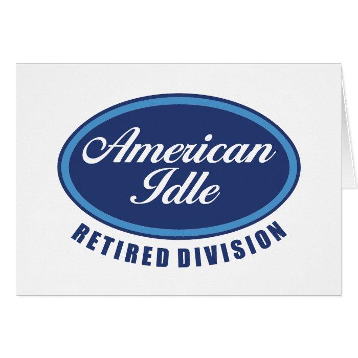 Funny Retirement/Senior Citizen Gift Cards