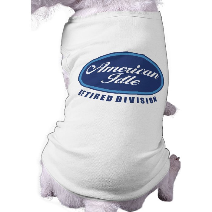 Funny Retirement/Senior Citizen Gift Pet Tshirt