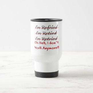 Funny Retirement Shirts and Gifts Travel Mug
