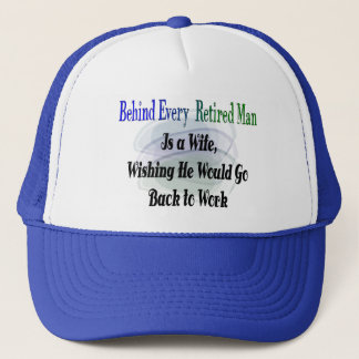 Funny Retirement T-Shirts and Gifts Trucker Hat
