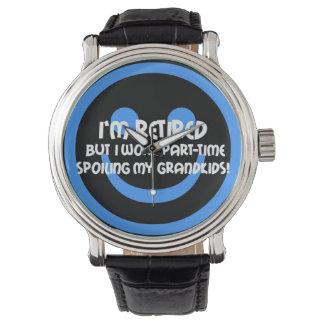 funny retirement wristwatch