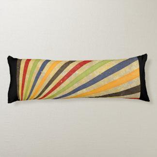 Funny Retro Grunge Rays + your idea Body Pillow