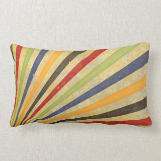 Funny Retro Grunge Rays + your idea Pillow