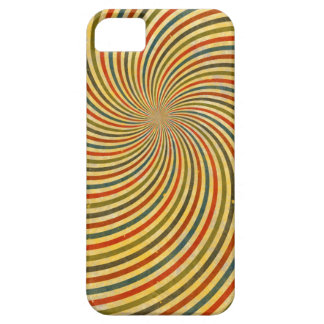 Funny Retro Grunge Swirl + your idea iPhone 5 Case