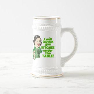 Funny Retro Irish Drinking Humor Mug