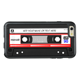 Funny Retro Mixtape Old Fashion Audio Cassette OtterBox iPhone 6/6s Plus Case