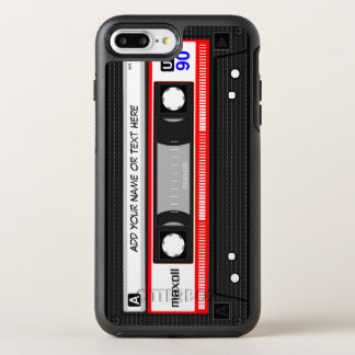 Funny Retro Mixtape Old Fashion Audio Cassette OtterBox Symmetry iPhone 8 Plus/7 Plus Case