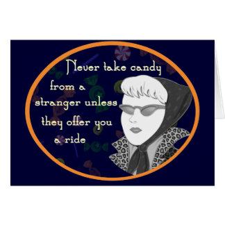 Funny Retro Mom Postcard Card
