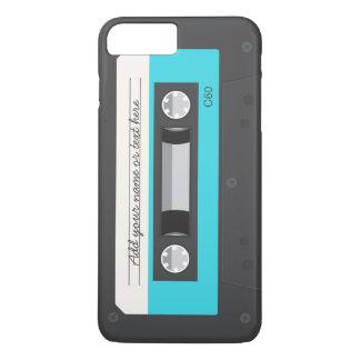 Funny Retro Music Cassette Tape Custom iPhone 7 Plus Case