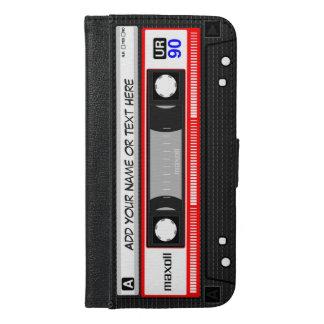 Funny Retro Music Cassette Tape iPhone 6/6s Plus Wallet Case