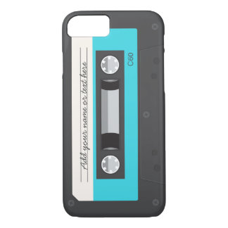 Funny Retro Music Cassette Tape iPhone 7 Case
