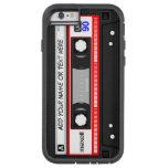 Funny Retro Music Cassette Tape Pattern Tough Xtreme iPhone 6 Case